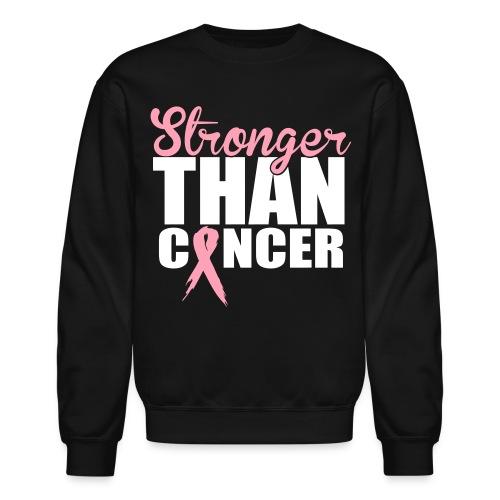 Stronger than Cancer Crewneck  - Crewneck Sweatshirt
