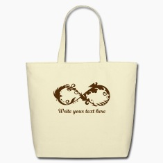 A symbol of infinity Bags & backpacks