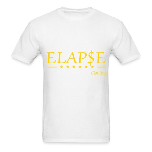 elapse clothing straight - Men's T-Shirt