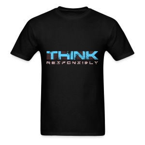 Think Responsibly (Mens) - Men's T-Shirt