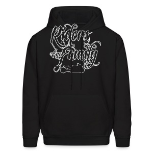 S&S RIDERS ARE FAMILY WHITE - Men's Hoodie