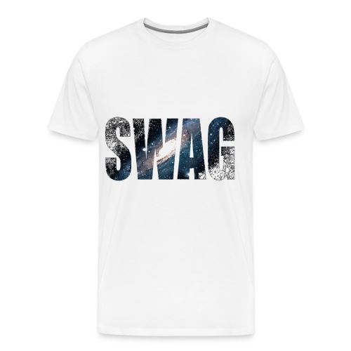 White mens swag tee - Men's Premium T-Shirt