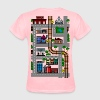 Mothers Day Playmat Tshirt!  Car and Train Play Ma - Women's T-Shirt