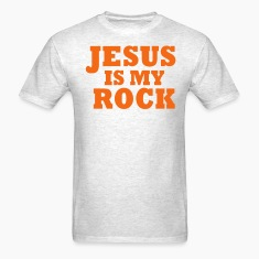 JESUS IS MY ROCK T-Shirts