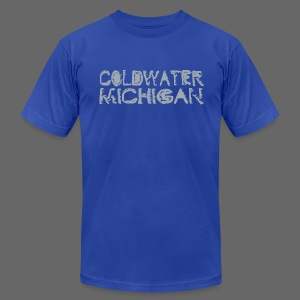 Coldwater, Mi - Men's T-Shirt by American Apparel