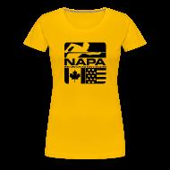 T-Shirts ~ Women's Premium T-Shirt ~ Black Logo Women's Short Sleeve Premium T-Shirt