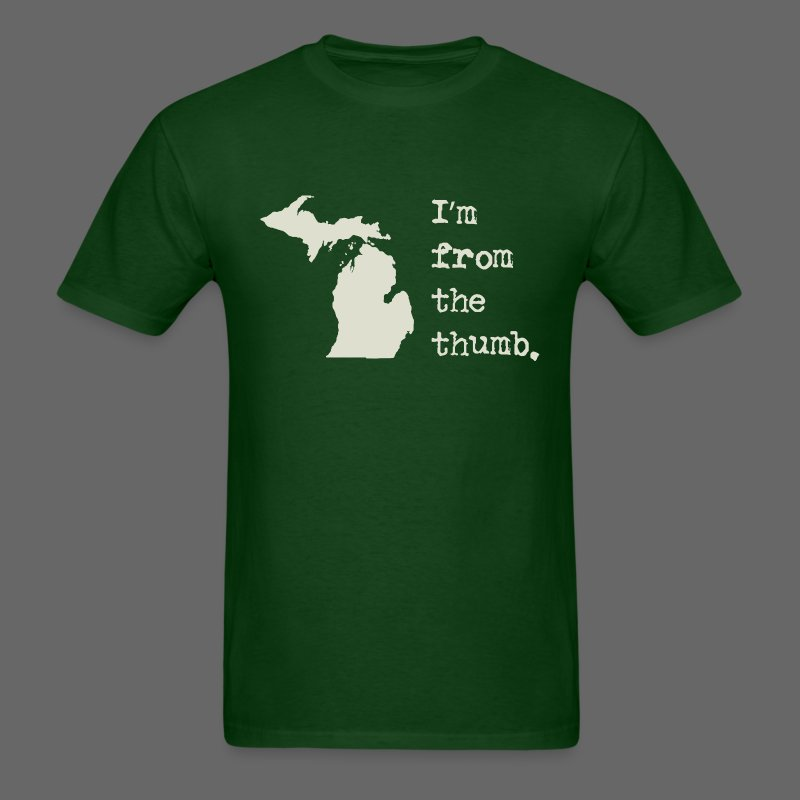 I'm From the Thumb - Men's T-Shirt
