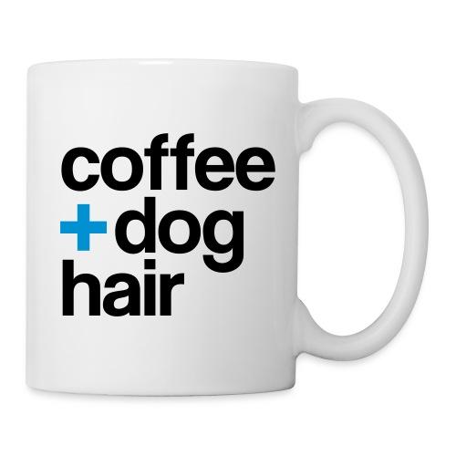 Coffee + Dog Hair - mug - Coffee/Tea Mug