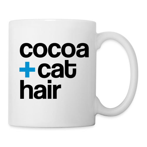 Cocoa + Cat Hair - mug - Coffee/Tea Mug