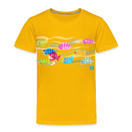 Baby & Toddler Shirts ~ Toddler Premium T-Shirt ~ Fishies! - Toddlers
