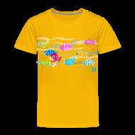Baby & Toddler Shirts ~ Toddler Premium T-Shirt ~ Fishies! - Toddlers