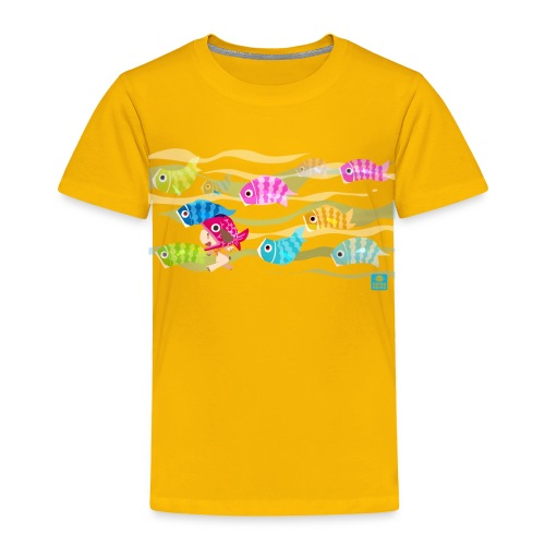 Fishies! - Toddlers - Toddler Premium T-Shirt