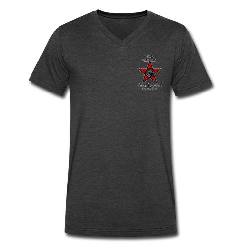 Men's V-neck - Men's V-Neck T-Shirt by Canvas