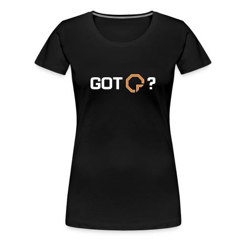 Got Certs? W - Women's Premium T-Shirt