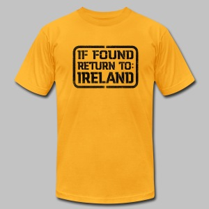 If Found Return To Ireland - Men's T-Shirt by American Apparel
