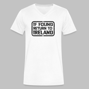 If Found Return To Ireland - Men's V-Neck T-Shirt by Canvas