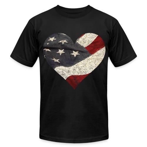 US Love Tee - Men's  Jersey T-Shirt