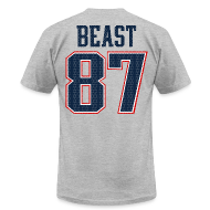 T-Shirts ~ Men's T-Shirt by American Apparel ~ Beast 87