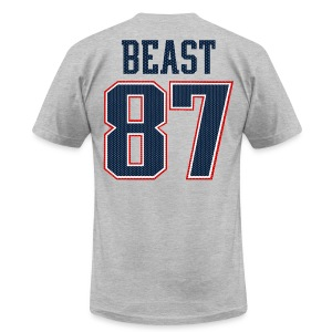 Beast 87 - Men's T-Shirt by American Apparel