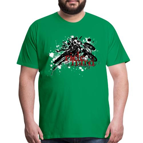 Ride hard BMX - Men's Premium T-Shirt