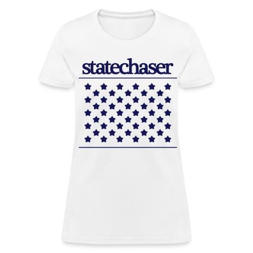 Womens Statechaser stars tee - Women's T-Shirt