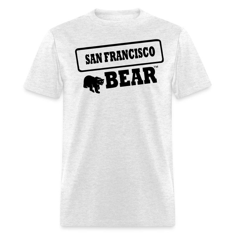San francisco bear t shirt spreadshirt for San francisco custom shirts