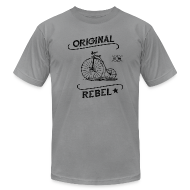 T-Shirts ~ Men's T-Shirt by American Apparel ~ Original Rebel - Men's Light Tee