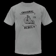 T-Shirts ~ Men's T-Shirt by American Apparel ~ Original Rebel - Men's Light Tee