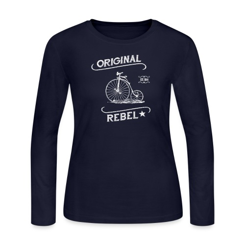 Original Rebel - Women's Dark Long Sleeve - Women's Long Sleeve Jersey T-Shirt