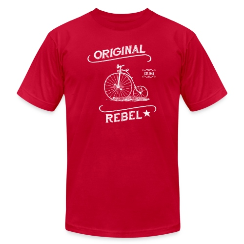 Original Rebel - Men's Dark Tee - Men's Fine Jersey T-Shirt