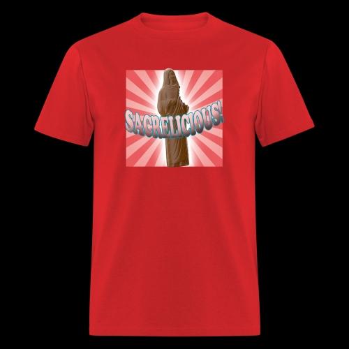 Men's T-Shirt - Sacrelicious - www.TedsThreads.co Easter is sacrelicious!