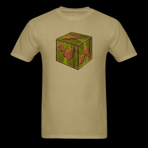 Rooster Block - www.TedsThreads.co - Men's T-Shirt