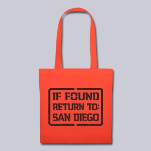 If Found Return To San Diego - Tote Bag
