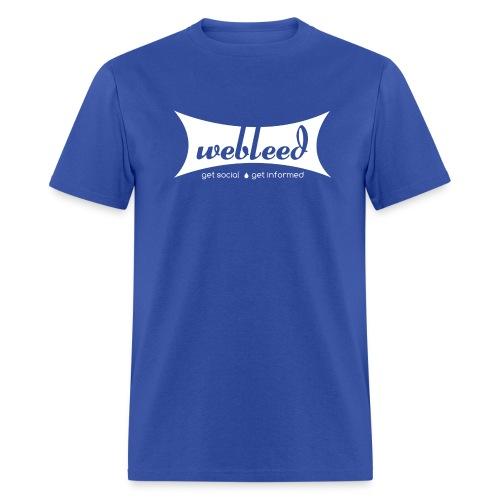 Vintage GetSocial GetInformed - Men's T-Shirt