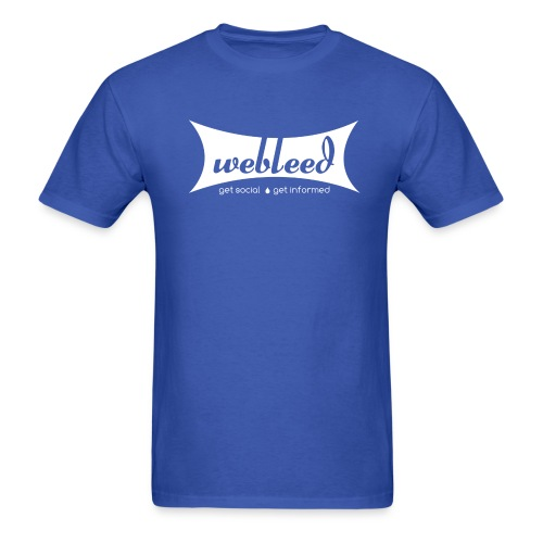 Vintage GetSocial GetInformed - Men's T-Shirt