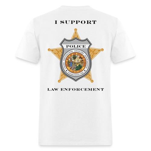 I Support Law Enforcement - Men's T-Shirt