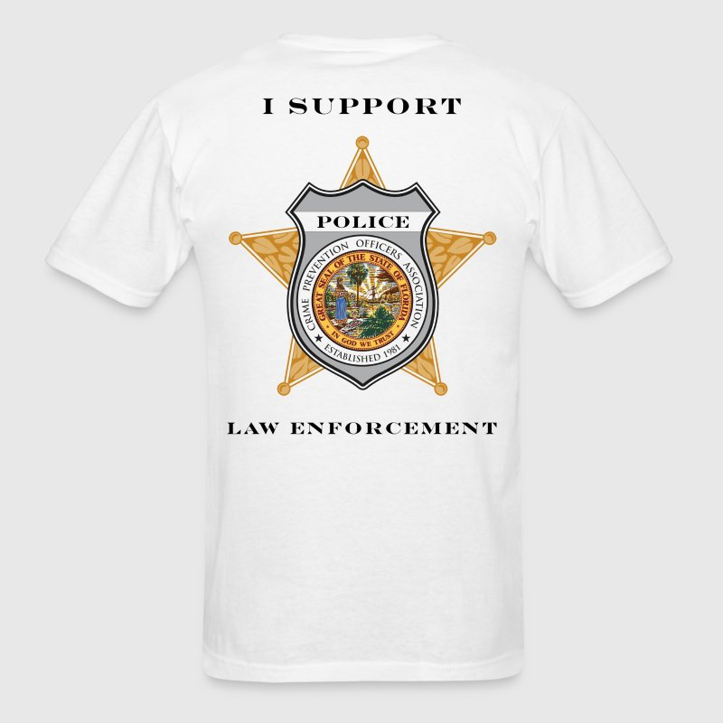 I Support Law Enforcement T Shirt Spreadshirt