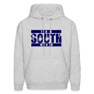 The South Won Hoodie (Gray/Blue) - Men's Hoodie