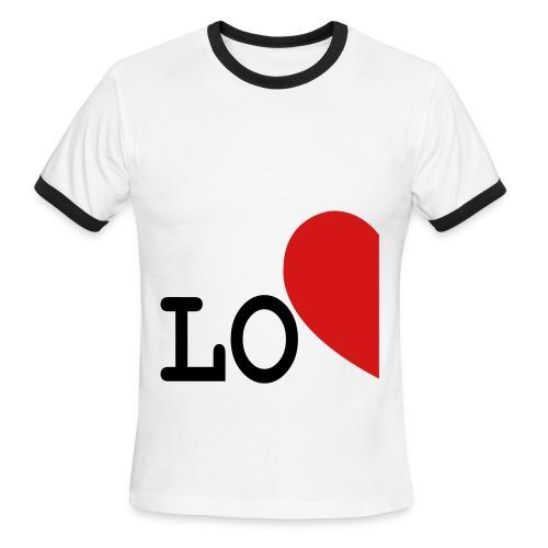 lo - Men's Ringer T-Shirt