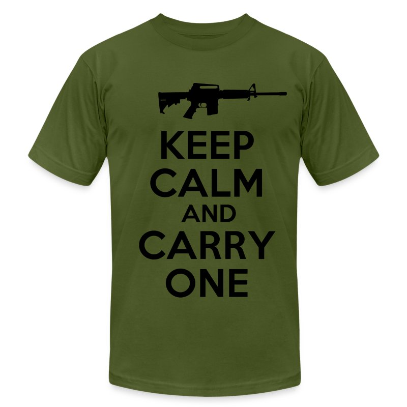 keep calm and carry one t shirt spreadshirt
