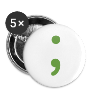 Buttons ~ Small Buttons ~ Semicolon Buttons