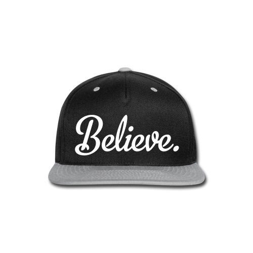 Believe Snapback - Snap-back Baseball Cap