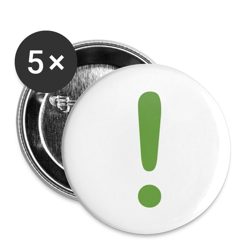 Exclamation Buttons - Small Buttons