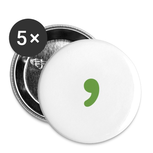 Comma Buttons - Small Buttons