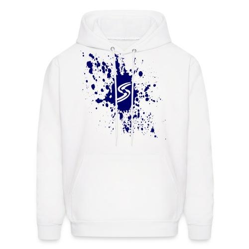Seraphic Blue Splatter - Men's Hoodie