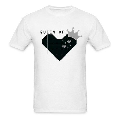 Queen Of Hearts - Men's T-Shirt