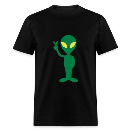 Alien Peace T-Shirt - Men's T-Shirt