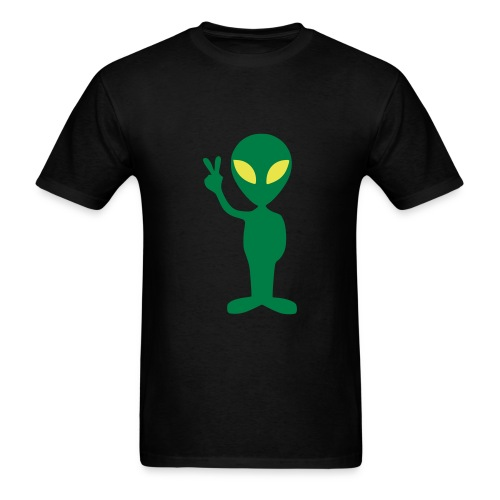 Alien Peace T-Shirt - Men's T-Shirt