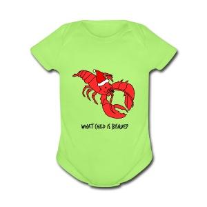 What Child Is Bisque - (Baby's Onesie) - Short Sleeve Baby Bodysuit