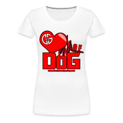 Heart of DoG Shirt Womens - Women's Premium T-Shirt